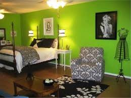 Simple Bedroom Ideas For Teenage Girls With Green Colors Theme