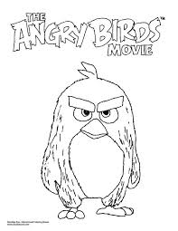Angry Birds Movie Coloring Pages 123 Coloring