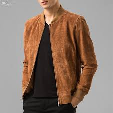 fall men s pigskin real leather jacket genuine leather baseball jacket men leather er jackets biker jacket uk 2019 from mangcao uk 333 87 dhgate uk
