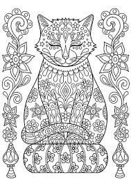 We've cute cat coloring pages that every feline lover is sure to enjoy filling. Cat To Download Cat On Pillow Cats Kids Coloring Pages