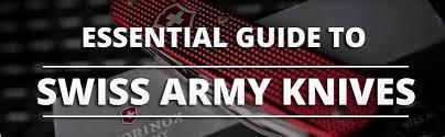 Swiss Army Knife Size Chart Choosing The Best Swiss Army Knife Knife Informer