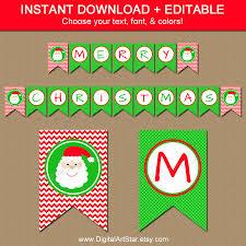 Printable Chevron Letters Free Printable Merry Christmas Letters Christmas Printables