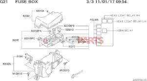 fuse box parts electronicswiring diagram esaabparts com saab 9 2x > electrical parts > electrical relays > fuse