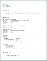Easy Resume Templates Free Mesmerizing Sample Resumes Ad Resume Example Great Of Correct Professional