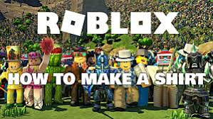 How To Create Your Own Clothes On Roblox How To Make Clothes In Roblox Roblox
