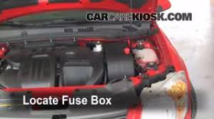 interior fuse box location chevrolet cobalt  interior fuse box location 2005 2010 chevrolet cobalt 2010 chevrolet cobalt lt 2 2l 4 cyl sedan 4 door