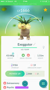 Exeggcute Evolution Chart 100 Iv Exeggutor Pokemon Go Wiki Gamepress
