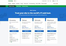 Godaddy Shared Hosting Review 2019 Economy Deluxe