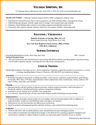 Nursin Resume Resume Objective For A Nursing Resume