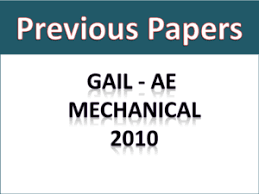 Gail Ae Mech Previous Papers 2010 Free Download Pdf
