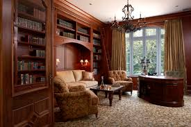 home office study. Traditional Study American-traditional-home-office Home Office T