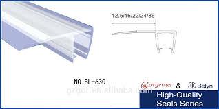 posh shower door bottom seal strip captivating shower glass door seal plastic shower door seal strip