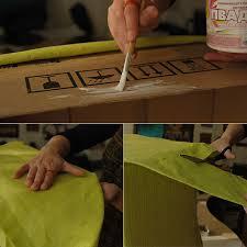 Cardboard Storage Box Decorative How to Make Fabric Covered Cardboard Storage Box DIY Crafts 65