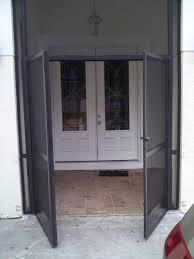 Custom pool enclosure hexagon shape Deck French Screen Doors Wayfair Lightning Aluminum Inc Garages Enclosures Outbuildings