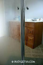 cleaning glass shower doors with dawn cleaning glass shower doors with vinegar and dawn sandpaper door