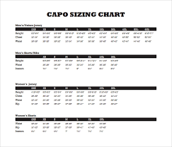 Sample Capo Chart 9 Documents In Pdf
