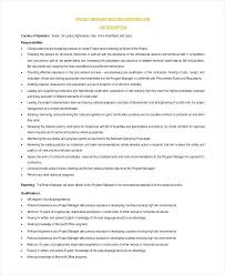 Architectural Project Manager Resume Job Description Architectural And Engineering Managers Job Description Architectural