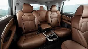 2017 acura mdx interior seating