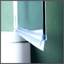 shower door sweep seal 3 8 glass shower door sweep replacement glass door ideas shower door shower door sweep seal