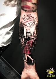 Tatuaggi Realistici Torino Taxi Tattooit I Migliori Tatuatori