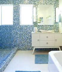 glass tile for bathroom walls indoor mosaic tile bathroom wall glass opal blends how to install