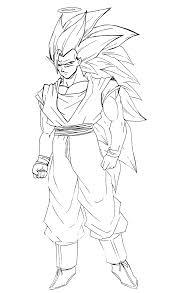 Coloriage Goku Coloriage Son Goku Combat Coloriage Dragon Ball Z