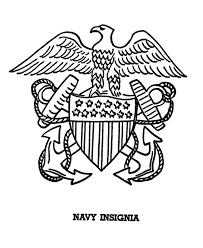 Usa Printables Armed Forces Day Coloring Pages Us Navy Anchor
