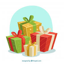 Gifts Background Christmas Gifts Background Vector Free Download