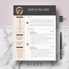Modern Resume Pdf Template Word Templates For Cv Free Download Modern Resume