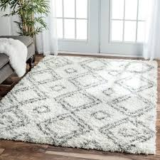 grey gy rug ikea faux fur target entryway rugs white coffee tables hampen and