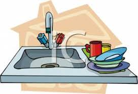 dishes in sink clipart. Wonderful Dishes With Dishes In Sink Clipart