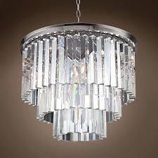 wonderful odeon glass fringe rectangular chandelier good looking