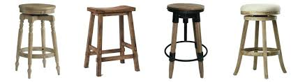 backless wooden farmhouse bar stools with back target