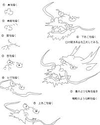 Catharsis カタルシス 龍の描き方 Drawing Art2019 描き方