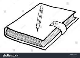 notebook cartoon a children s sketch