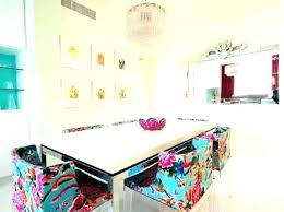 Colorful Dining Room Tables Custom Inspiration Ideas