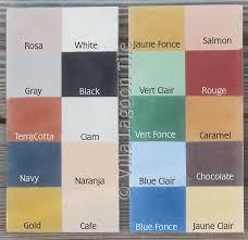 tile paint colorsMonterey Collection Cement Tile Colors  Villa Lagoon Tile
