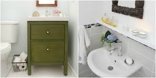 Bathroom Brightbluebathroom Interior Design With IKEA Tiny