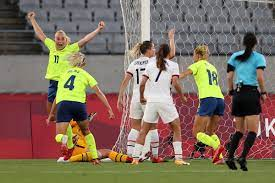 Sweden stuns USWNT in Olympic opener ...