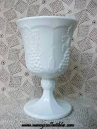 Grape Pattern Milk Glass Extraordinary VINTAGE AND DEPRESSION GLASSWARE Nancy's Antiques Collectibles