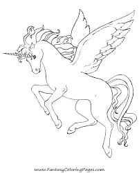 Baby Pegasus Coloring Pages At Getdrawingscom Free For Personal