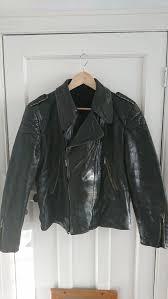details about true vintage leather flying jacket german luftwaffe zipp ww2 germany biker