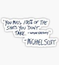 the office merchandise. The Office Quote Sticker Merchandise Y