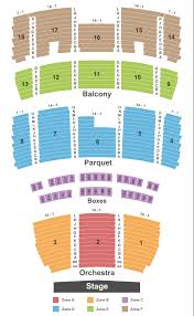 Mahalia Jackson Theater For The Arts Seating Chart New Orleans