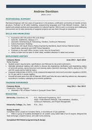 Simple Design Engineer Resume Template Microsoft Word Customize