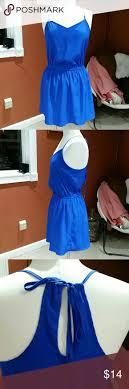 American Eagle royal blue mini dress
