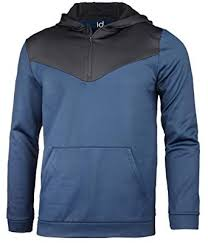 Id Ideology Size Chart Id Ideology Mens Performance Colorblocked Half Zip Hoodie