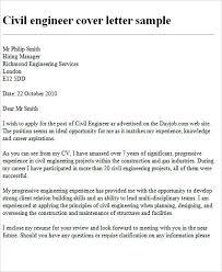 Cover Letter For Civil Engineer Musiccityspiritsandcocktail Com