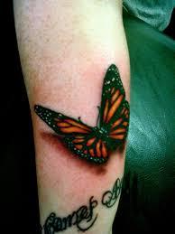3d Butterfly Tattoos On Leg Tattoomagz Tattoo Designs Ink