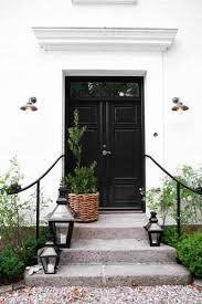 black double front doors. Interesting Black Black Double Doors To Front O